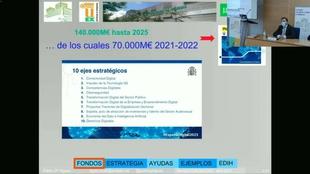 Pablo García asegura que Extremadura está preparada para hacer frente a los retos que comporta la transformación digital