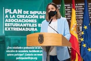 Presentado un nuevo Programa de Impulso para el Asociacionismo Estudiantil en centros educativos de Extremadura