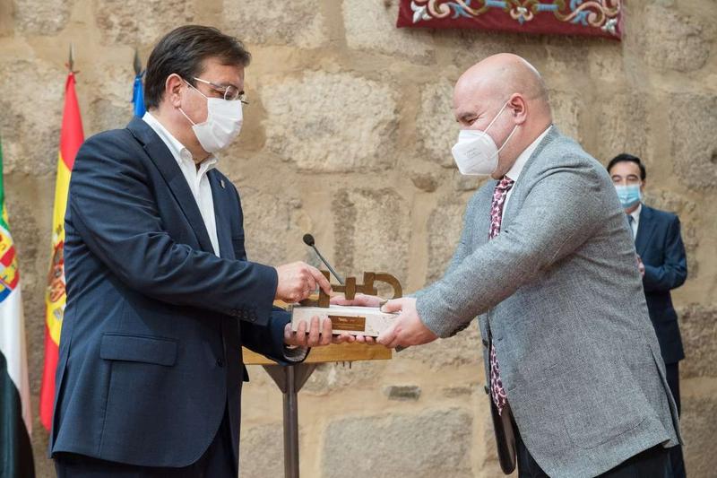 La Junta de Extremadura recibe el premio CERMI-2019 a la Mejor Acción Autonómica y/o Local
