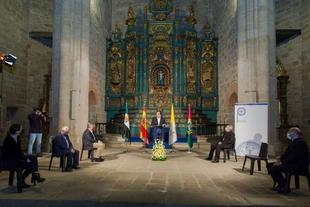 Fernández Vara pone en valor que la muestra 'Las Edades del Hombre' se exponga en Plasencia