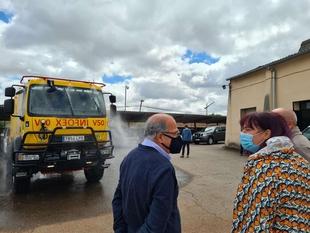 Begoña García visita el COR del Infoex, que ha recepcionado nuevos vehículos