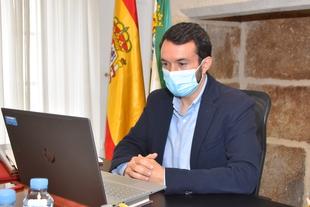 El presidente de la FEMPEX  destaca el  ''enorme esfuerzo'' hecho por las    entidades locales  para luchar contra la pandemia con recursos propios