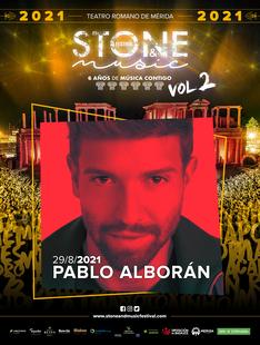 Pablo Alborán vuelve a participar en Stone & Music Festival, ahora con su nuevo trabajo Vértigo