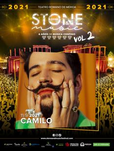 El colombiano Camilo estará en Stone&Music Festival  en su primera gira por España