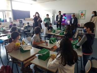 El director de la PAC destaca el incremento de centros escolares en Extremadura acogidos al Programa Escolar de Consumo de Frutas y Hortalizas