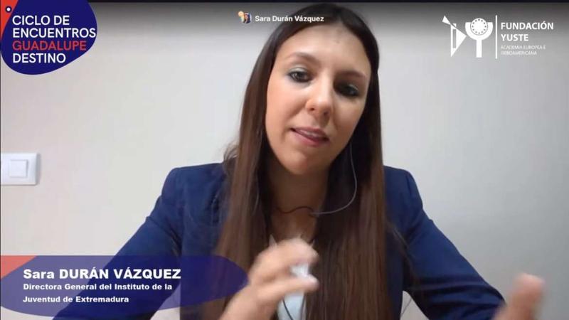 Sara Durán destaca la importancia de los jóvenes en el futuro de Europa
