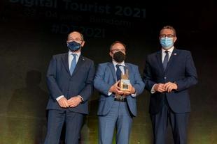 Extremadura recibe un reconocimiento en el congreso Digital Tourist 2021