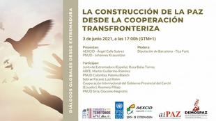 El director de la AEXCID inaugura un diálogo sobre construcción de paz y cooperación trasfronteriza