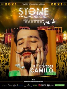 Camilo sigue los pasos de Perales y ofrecerá un segundo concierto en el Stone&Music Festival