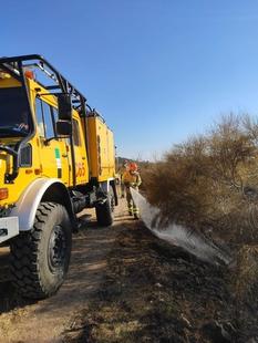 El Infoex participa durante esta semana en 12 incendios forestales en los que han ardido 25 hectáreas