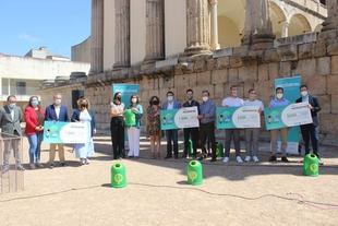 Olga García apela a la concienciación social para aumentar el reciclaje y las iniciativas sostenibles en Extremadura