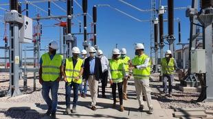 Olga García destaca la importancia para Extremadura de una red de transporte de energía eléctrica segura y potente
