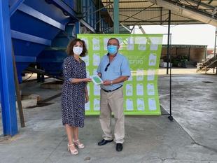 El reciclaje de envases de fertilizantes y fitosanitarios aumenta en Extremadura