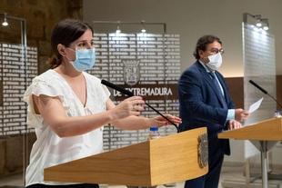 La situación de la pandemia de Covid-19 es 'complicada' en Extremadura, que permanece en nivel de alerta 1