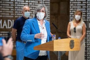 Leire Iglesias presenta el programa 'Rehabita' para la rehabilitación de vivienda destinada al alquiler