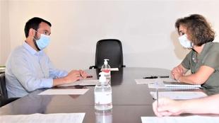 La consejera para la Transición Ecológica se reúne con el presidente de la FEMPEX para tratar los fondos Next Generation