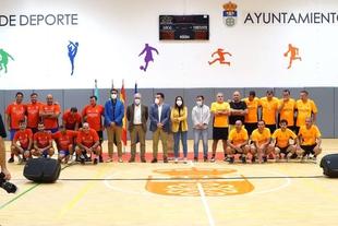 La consejera de Cultura inaugura el pabellón deportivo de Quintana de la Serena