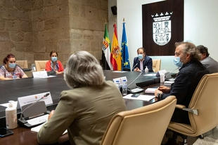La Junta solicitará al Gobierno de España la aplicación de los remanentes de la dotación asignada para ayudas directas a empresas y autónomos
