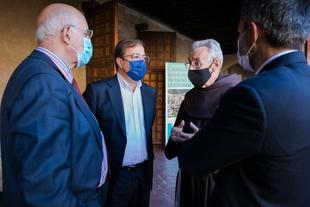 Fernández Vara reivindica la importancia del patrimonio extremeño en las I Jornadas Guadalupenses Patrimonio de la Humanidad