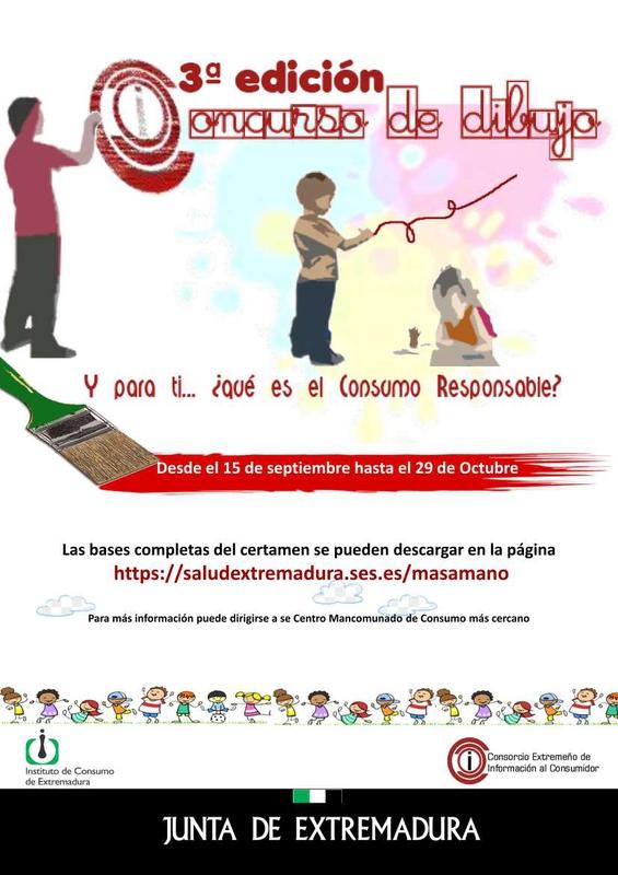 Convocada la III Edición del Concurso de Dibujo Infantil y Juvenil sobre Consumo Responsable