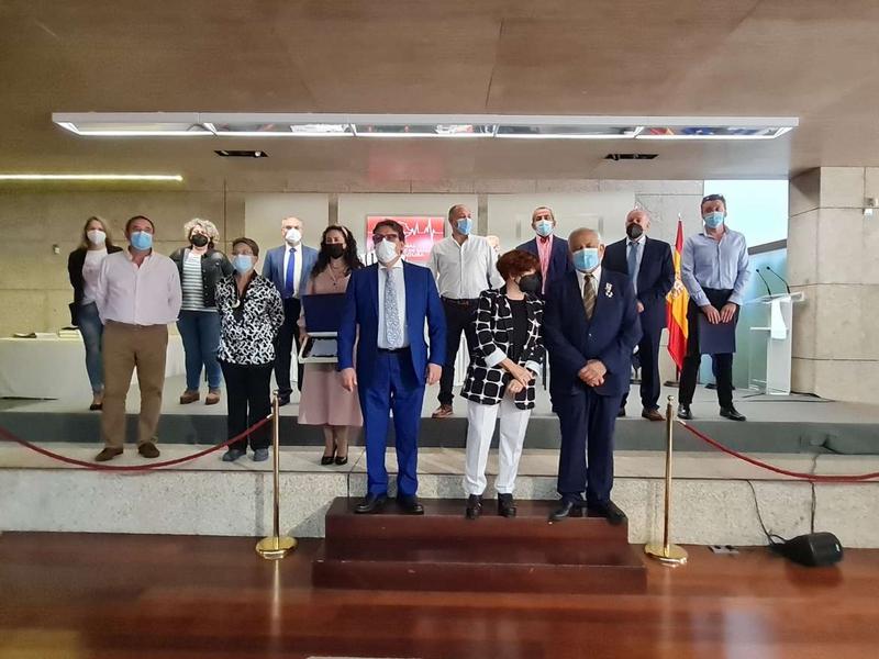 Vergeles asiste al acto del Día Regional del Donante de Sangre en un año en el que Extremadura continúa a la cabeza en donaciones