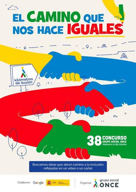 El Concurso Escolar del Grupo Social ONCE invita a estudiantes y familias a crear un futuro de igualdad e inclusión