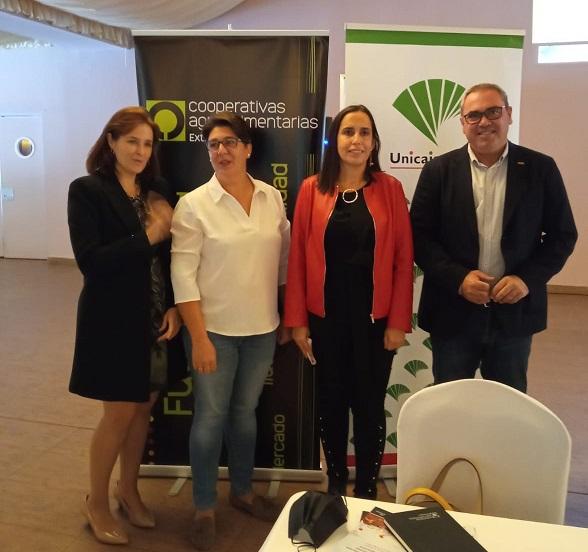 La Junta valora las políticas de igualdad que se potencian en las cooperativas extremeñas y las novedades de la normativa autonómica