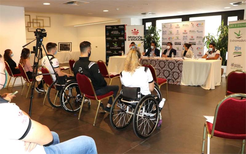 El Club Polideportivo Mideba es el referente del deporte adaptado en Extremadura