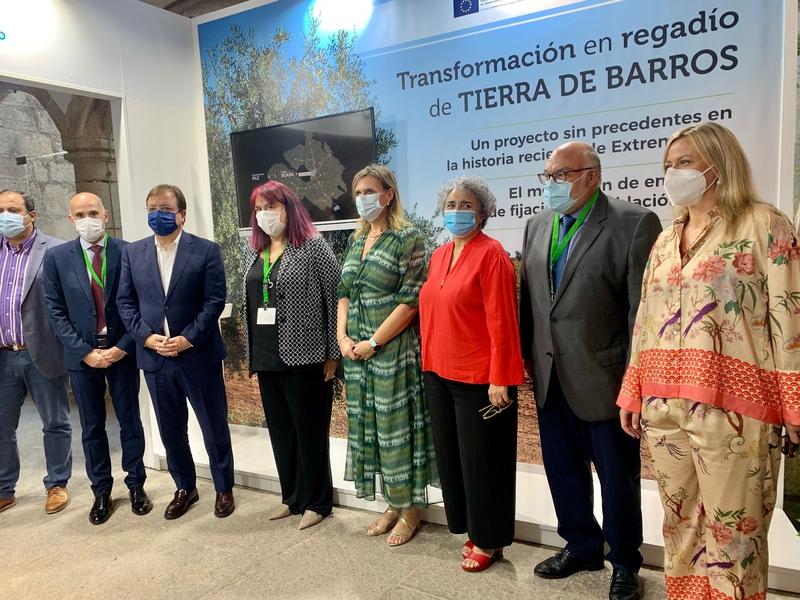 García Seco: ''El regadío es la joya de la corona de la agricultura extremeña y española''