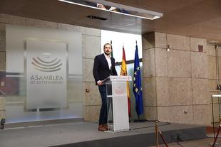 Salazar (Cs) indica que no espera nada de los PGE porque ''Vara es Sánchez'' y a ninguno le interesa Extremadura