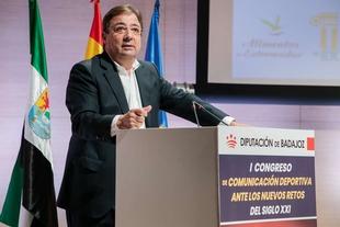 Fernández Vara apuesta por la base para acceder al deporte de élite