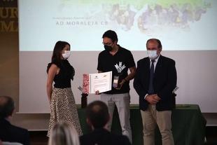 Nuria Flores Redondo participa en la ceremonia de entrega de los XVII Premios Espiga de Impulso al Deporte