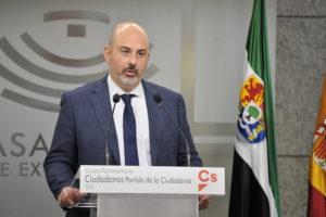 Cs pide una ''modernización'' de los PGEx y ofrece una ''alternativa'' a unas cuentas ''continuistas y sin proyecto de región''