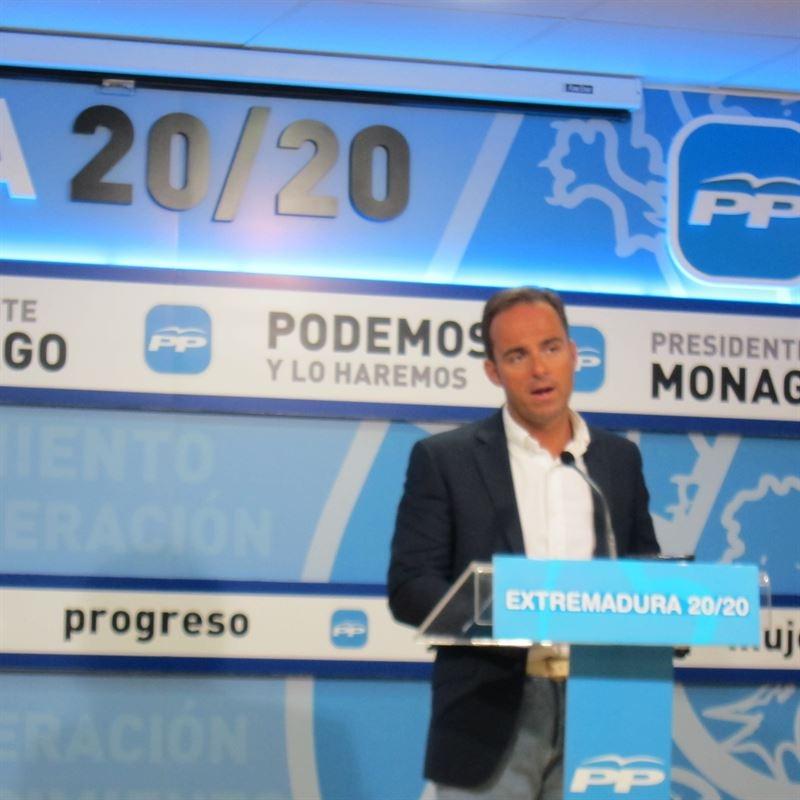 El PP replica al PSOE que no tiene