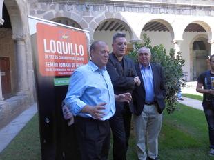 Loquillo elogia la labor que el Gobierno de Extremadura est� haciendo por la cultura