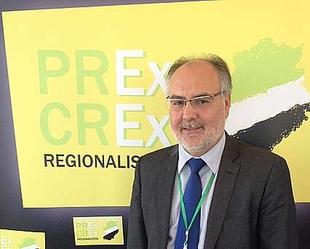 Estanislao Mart�n, elegido candidato de la coalici�n regionalista extreme�a PREx CREx