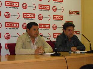 UGT y CCOO llaman a la poblaci�n a movilizarse el 29 de noviembre ''por la dignidad'' y la ''recuperaci�n de derechos''