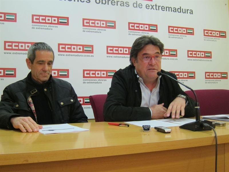 CCOO traslada a todos los partidos sus propuestas de pol�ticas 'alternativas' para 'mejorar la situaci�n' de Extremadura