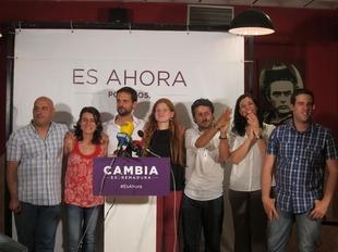 """�lvaro Ja�n se�ala que Podemos ha """"llegado para quedarse"""" y """"abrir puertas y ventanas"""" en la Asamblea extreme�a"""