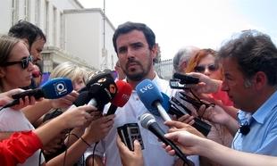 """Garz�n atribuye los resultados de IU en Extremadura a la """"falta de coherencia"""" por permitir el gobierno de Monago"""