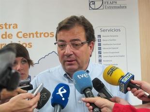 Vara prev� ser investido presidente de Extremadura sobre la �ltima semana de junio