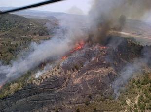 La �poca de peligro alto de incendios forestales en Extremadura comenzar� a partir del 1 de junio