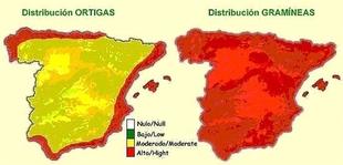 Las mayores concentraciones de polen en Extremadura superan los 5.000 granos por metro c�bico en mayo, seg�n la UEx
