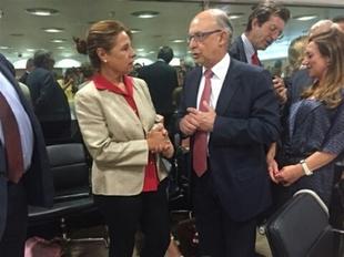 Extremadura destaca que se opone a un reparto sim�trico del d�ficit por considerarlo