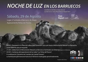 La candidatura de 'Los Barruecos' solicita el apoyo de los extreme�os para la final del 'Mejor Rinc�n 2015'